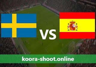 القنوات الناقلة لمباراة اسبانيا والسويد اليوم بتاريخ 14/06/2021 يورو 2020