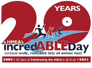 WOW, 20 incredABLE Years! Help HMEA raise some funds for their cause!