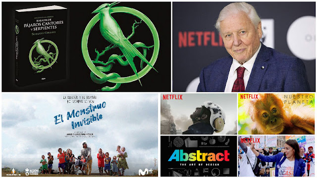 precuela 'Los juegos del hambre' al cine, 'El monstruo invisible' de los hermanos Fesser, documentales gratis de Netflix para cuarentena