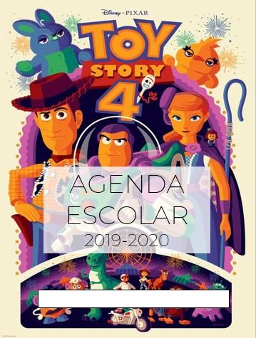 Agenda Escolar Editable Toy Story