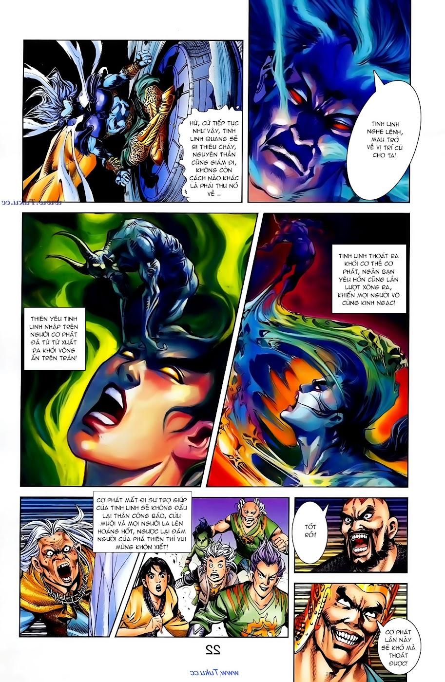 Cơ Phát Khai Chu Bản chapter 102 trang 23
