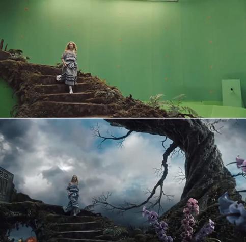 10 escenas de series y películas antes y después