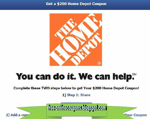 Printable Coupons 2019 Home Depot Coupons