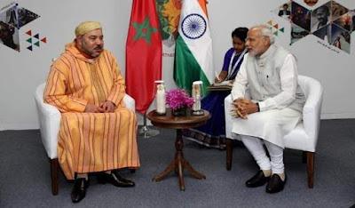 الملك محمد السادس نصره الله  يبعث ببرقية تهنئة إلى الرئيس جمهورية الهند .بمناسبة احتفال بلاده بعيدها الوطني