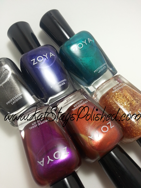 Zoya Fall 2013 - Satins Collection