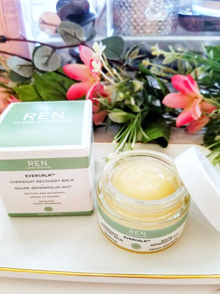 Combat Very Dry Winter Skin with REN Evercalm Overnight Recovery Balm 3