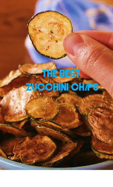 The Best Zucchini Chips