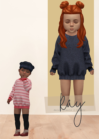 - ̗̀ Ray Sweater Dress ̖́- (TS4)