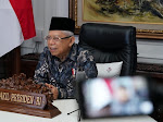 PresidenJokowi Dipastikan Divaksin, Wapres Maa'ruf Amin Masih Tunggu Vaksin Khusus