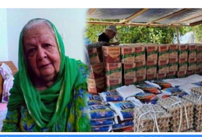 Rela Tak Jadi Naik Haji Ibu Ini Memilih Sumbangkan Uang Tabungannya itu Untuk Bantuan Corona