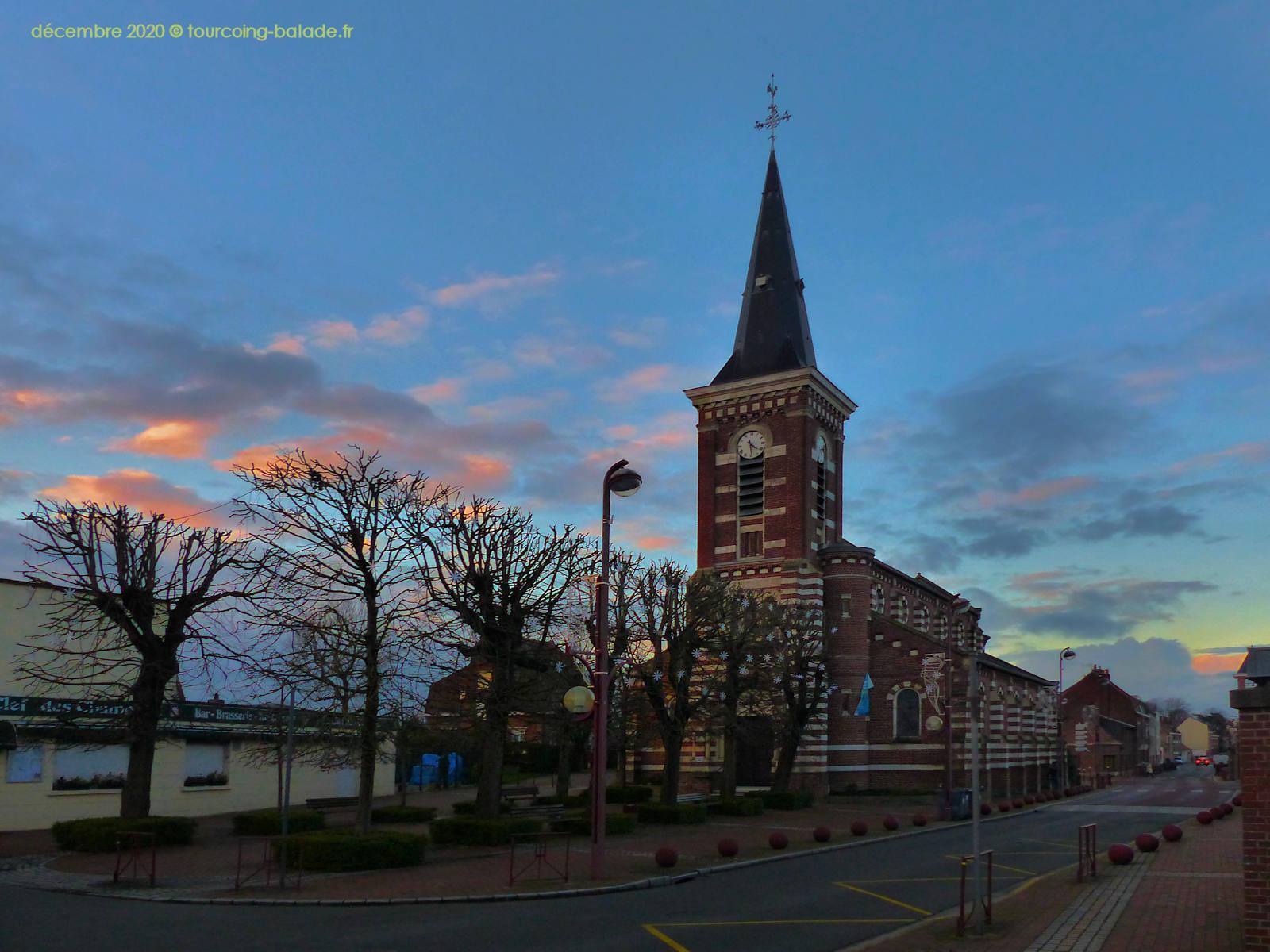 Templemars Hiver 2020 - Église Saint Martin
