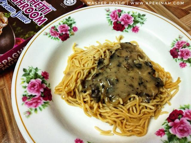 Master Pasto Spaghetti Siap Dalam 3 Minit Je