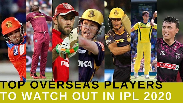 IPL 2020: Best Overseas Players to Watch Out