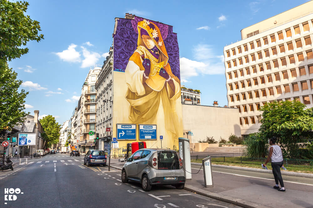 Paris Street Art by artist Inti