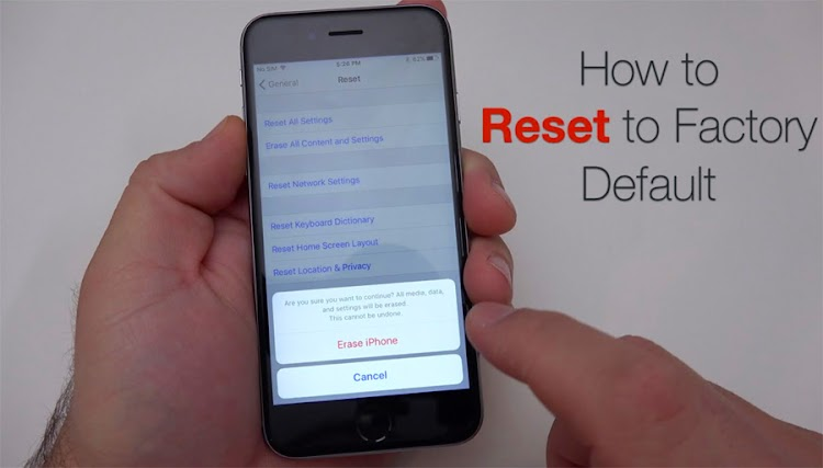 Cara Reset Ulang iPhone (Hard/Factory Reset)
