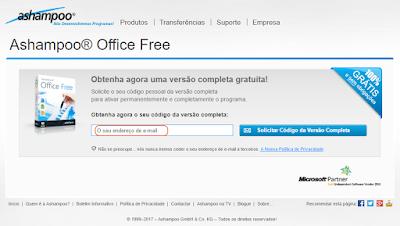 Ashampoo Office Free -Activação 2
