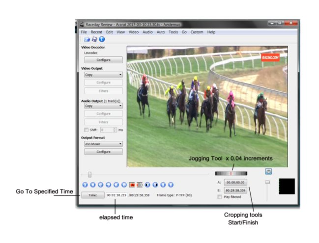Clocking sectionals on replays - Thoroughbred Horse Racing