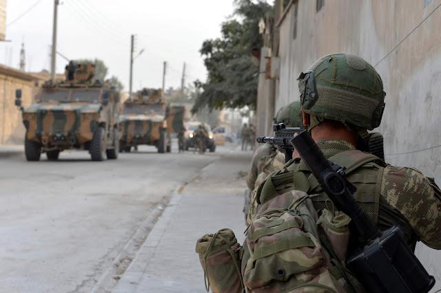 Αποχώρησαν οι Κούρδοι μαχητές από την Ρας αλ-Άιν – Η ανακοίνωση του υπουργείου Άμυνας της Τουρκίας