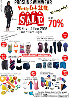 Prosun Swimwear Year End Sale 2016