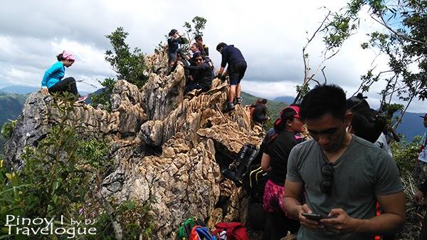Enthralling limestone formation at Mt. Daraitan summit