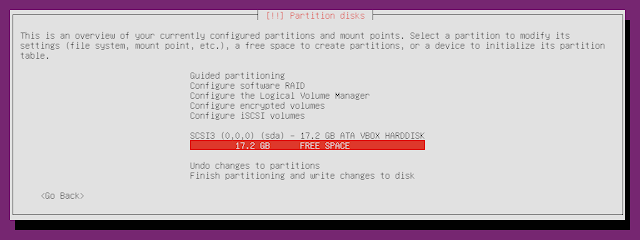 ubuntu minimal cd free disk space