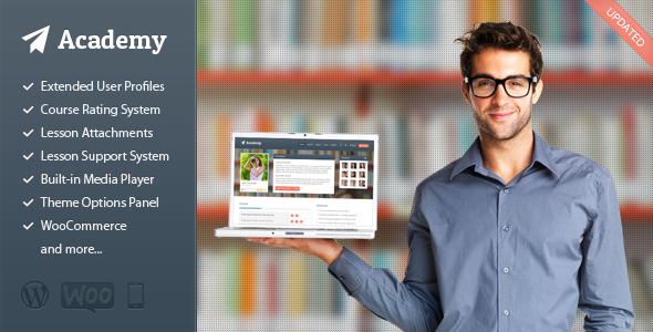 Download Academy v2.10 Learning Management WordPress Theme