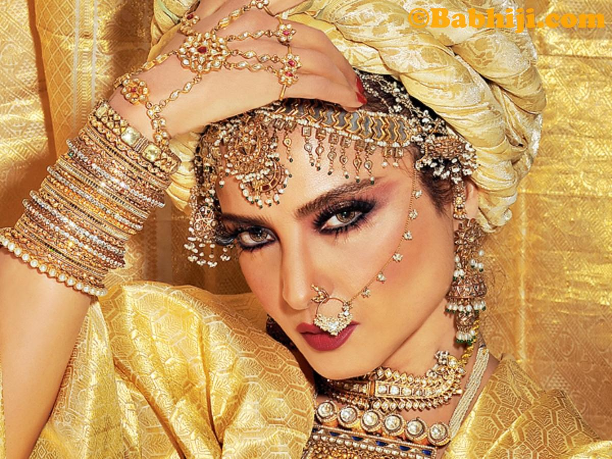 HERE'S 25 INTERESTING INFORMATION ABOUT BOLLYWOOD ACTRESS  REKHA.