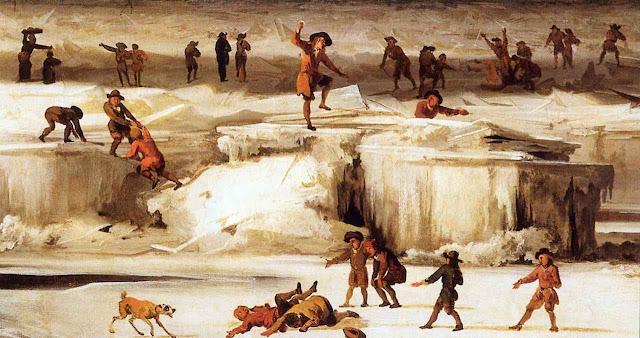 """No """"Mínimo de Maunder"""" iniciado em 1645, quando o Tamisa congelava fazia frio mas era uma festa"""