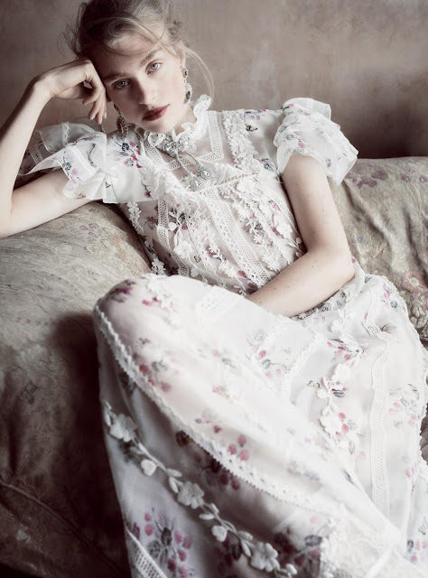 Hedvig Palm in Harper's Bazaar