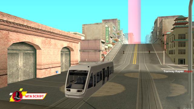 MTA:SA Tramvay Meslek Scripti