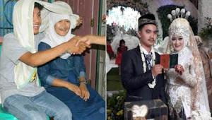 Dulu Cuma Foto Nikah-Nikahan, Pasangan Ini Nikah Beneran 6 Tahun Kemudian