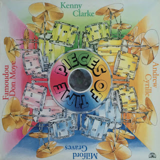 Kenny Clarke, Andrew Cyrille, Milford Graves, Famoudou Don Moye, Pieces of Time