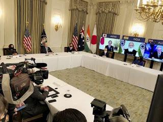 PM Modi participated in Quad Summit 2021