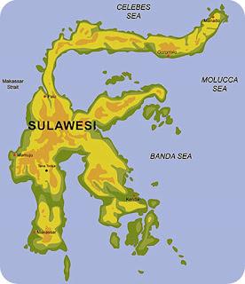 Kondisi Geografis Pulau Sulawesi Berdasarkan Peta (Luas, Batas, Keadaan Alam)