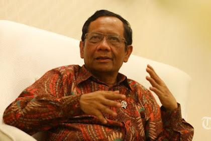 "Mahfud Md: ""Coba lihat di era Pak Jokowi Sejak 2014 Sampai Sekarang Tidak Ada Satu pun Isu Pelanggaran HAM."""