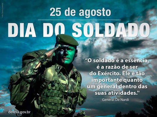 Resultado de imagem para homenagem ao soldado brasileiro