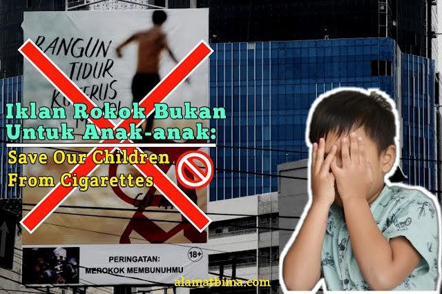 iklan rokok bukan untuk anak-anak