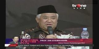 Din Syamsuddin Bongkar Cara Jahat Mematikan KAMI