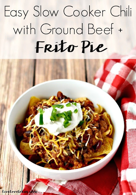 Slow Cooker Chili Frito Pie Recipe