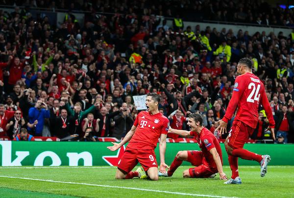 Bayern goal celebration