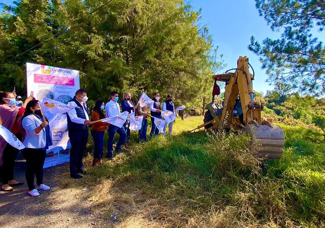 Inicia el 2021 con 4 obras de alto impacto en Uruapan: Miguel Paredes