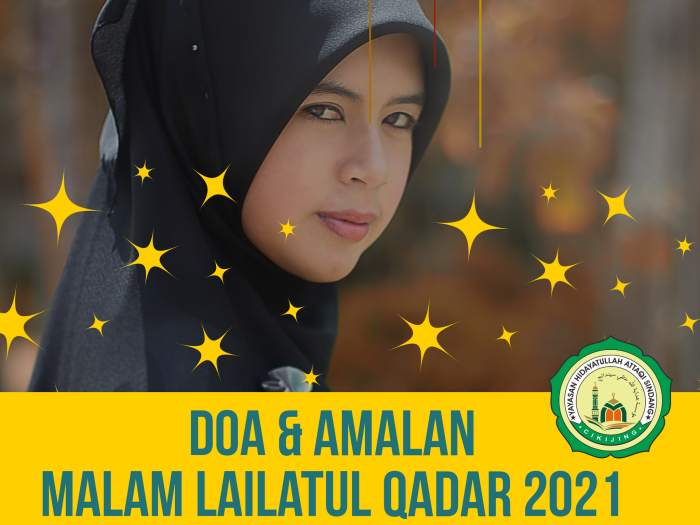 Malam Lailatul Qadar 2021