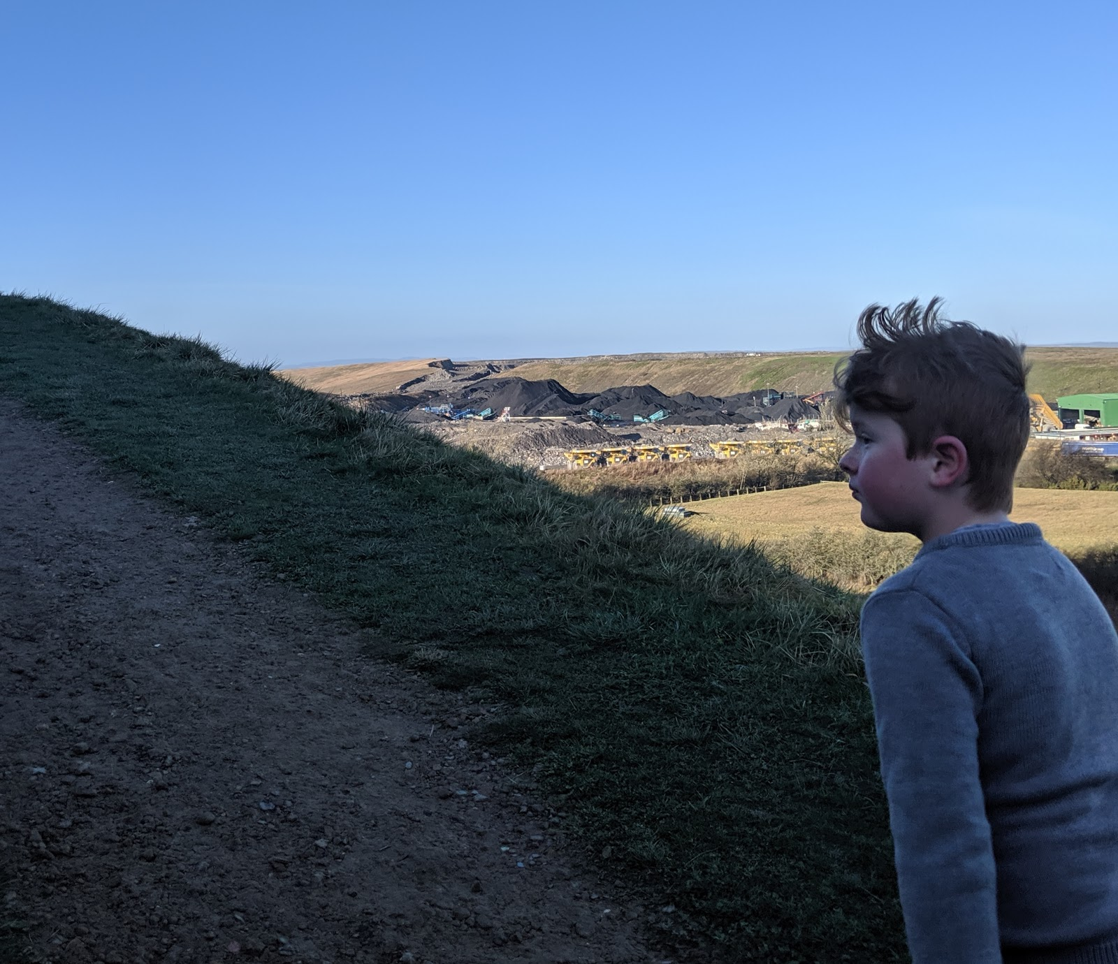 A Guide to Visiting Northumberlandia - view of mine