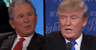 George W. Bush won't support reelection of Trump