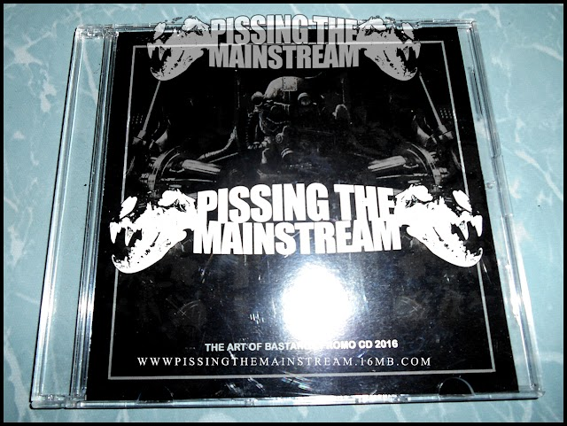 PISSING THE MAINSTREAM - The Art Of Bastards Promo CD 2016 (NOT FOR SALE !!! PROMOTION ONLY !!!)