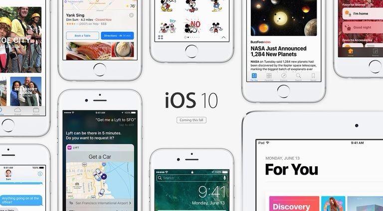 Banner iklan fitur-fitur iOS 10 di situs remi apple
