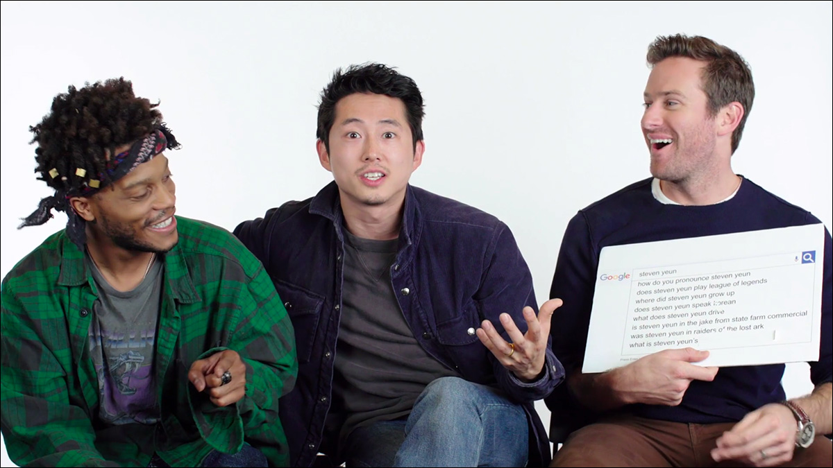 Steven Yeun does not play all the Asians on TV