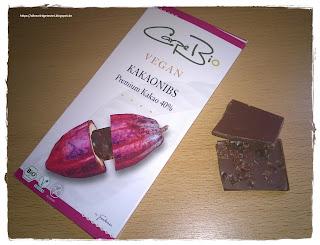 Carpe Bio Kakaonibs vegan von Frankonia