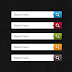 Fancy 5 Color set Search Box Web Element