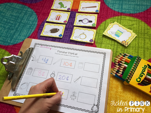 Practice money skills with this Monster Money bundle.